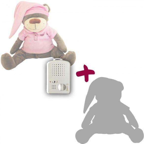 Medvedík Doodoo - ružový+ 1ks Plyšový