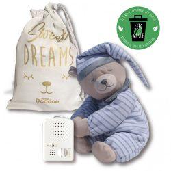 Medvedík Doodoo - sivý/páskovaný