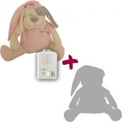 Doodoo kutya rózsaszín + tartalék plüss csomagban