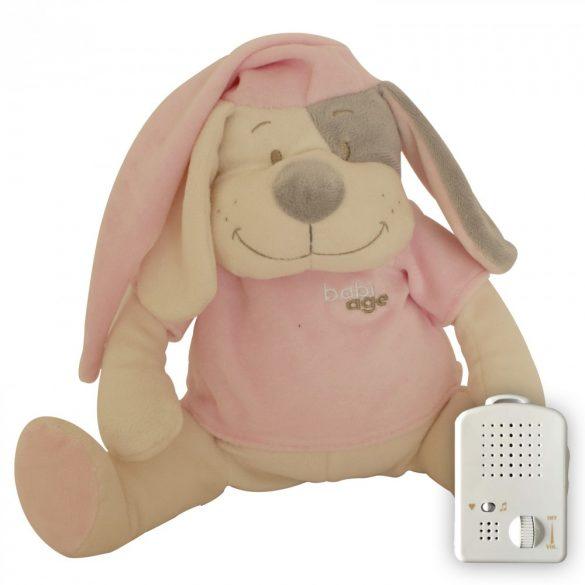 Psík Doodoo - ružový+ 1ks Plyšový