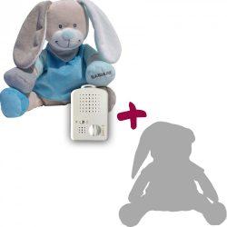 Zajačik Doodoo - modrý+ 1ks Plyšový