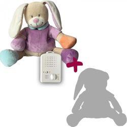 Zajačik Doodoo - nachový+ 1ks Plyšový