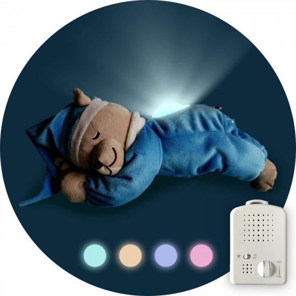 Doodoo lámpás maci türkiz kék