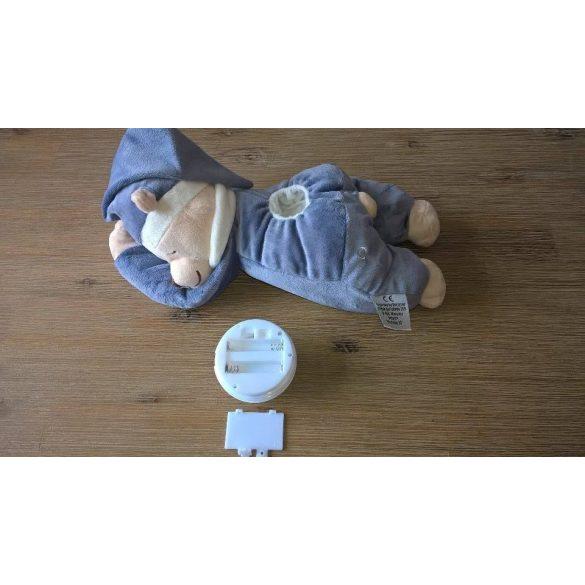 Medvedík Doodoo - svietiaci/tyrkysový