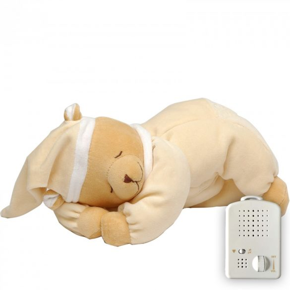 Doodoo maci vanília szín/ nem lámpás+ tartalék plüss a csomagban