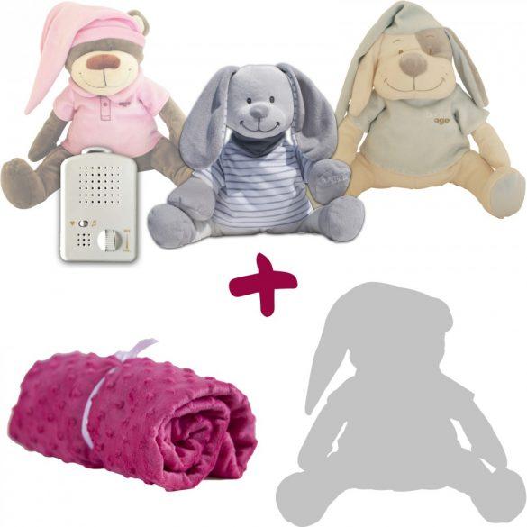 Exkluzív csomagajánlat! Választott Doodoo+takaró+tartalék plüss kedvezményes áron!