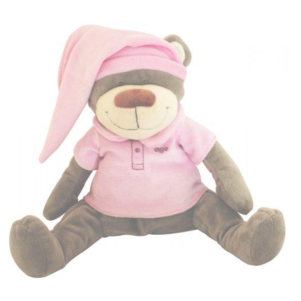 Plyšový medvedík Doodoo – ružový