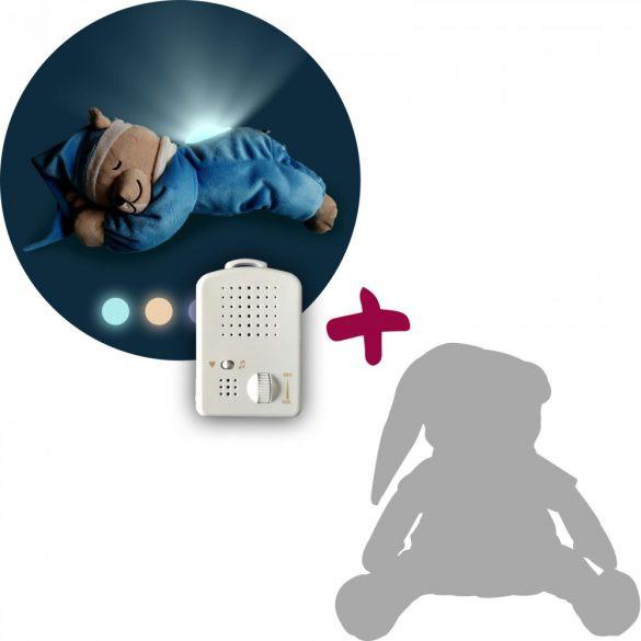 Titkos ajánlat - Doodoo lámpás maci türkizkék + tartalék plüss csomagban