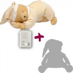 Titkos ajánlat - Doodoo maci vanília szín/ nem lámpás+ tartalék plüss a csomagban