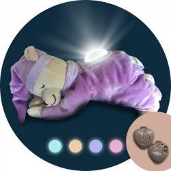 Doodoo szünetmentes audio + Doodoo lámpás maci lila